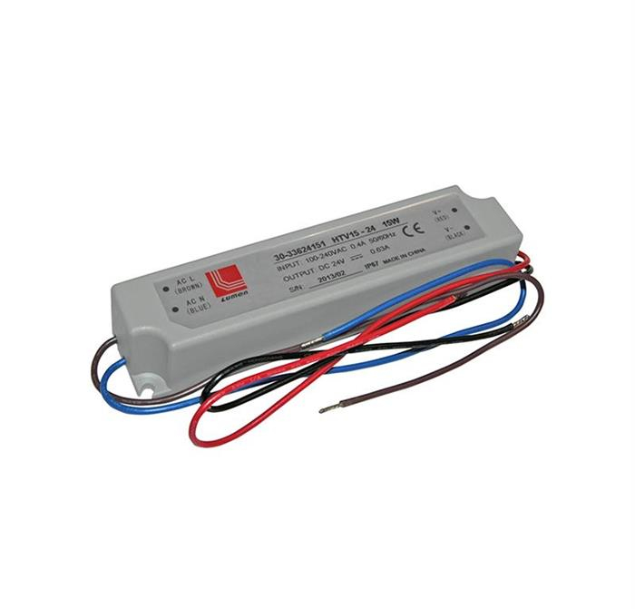 Transformator pentru LED IP67 24 VDC 15W 1A [0]