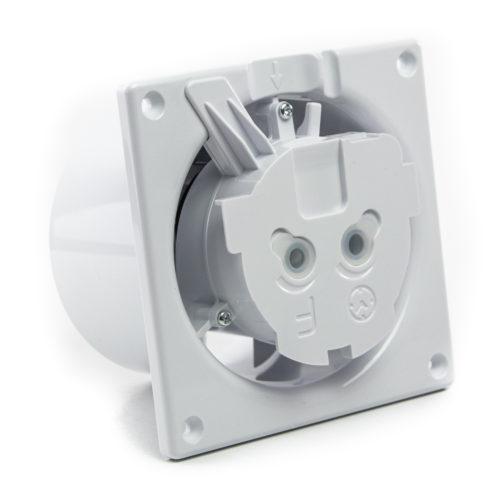 Ventilator baie gama Drim cu senzor de umiditate si timer-Ø125 Plexiglass Alb lucios [3]