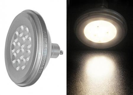 Bec cu LED AR111 GU10 12W (≈86w) lumina calda [0]