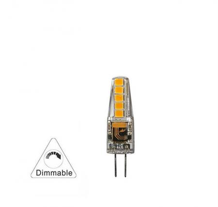 Bec cu LED SMD G4  dimabil 2.5W (≈22w) lumina calda [1]