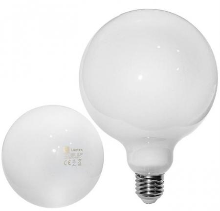 Bec glob alb laptos Ø 125 cu LED COG E27 10W (≈150w) lumina alba [0]