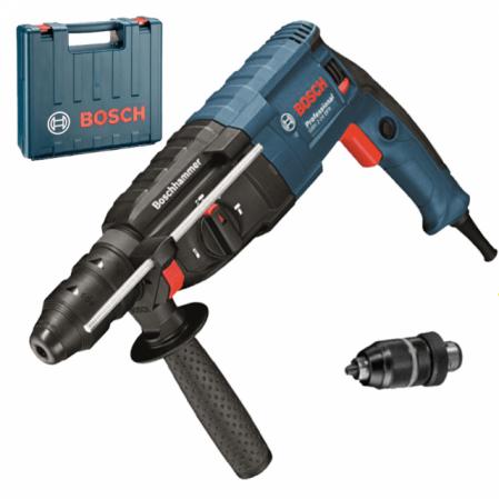 Ciocan rotopercutor Bosch GBH 240 F, 790W, 2.7J, 930rpm, SDS-Plus, 3 functii [0]