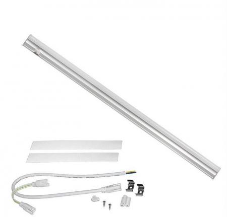 Corp argintiu interconectabil cu LED [0]
