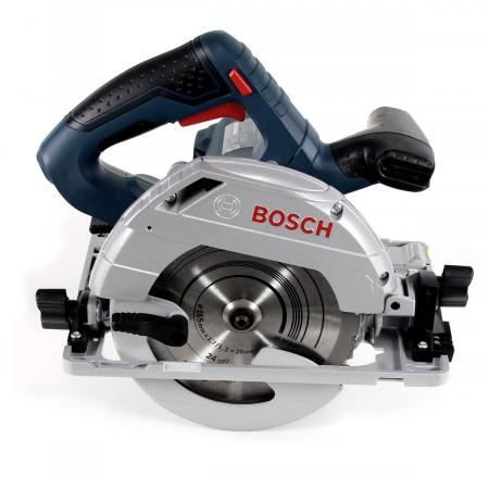 Fierastrau circular Bosch GKS 55+ GCE, 1350W, 4700RPM, 165mm [0]
