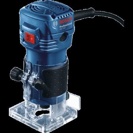 Masina de frezat Bosch GKF 550, 550W, 33000rot min, 6mm [0]