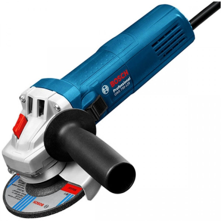 Polizor unghiular Bosch GWS 750, 750 W, 11.000 rpm, 125 mm [0]