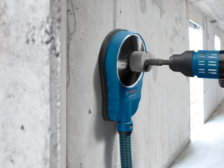 Sistem universal de extractie a prafului pentru gauri si carote Bosch GDE 162, max 162 mm [2]