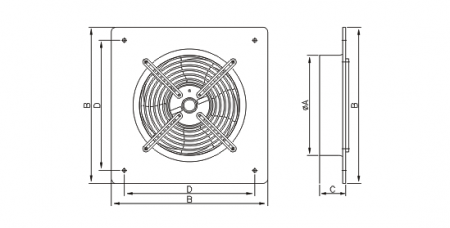 Ventilator axial gama Works standard - Ø350 [1]