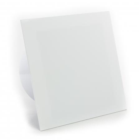 Ventilator baie gama Drim cu senzor de umiditate si timer-Ø125 Plexiglass Alb lucios [0]