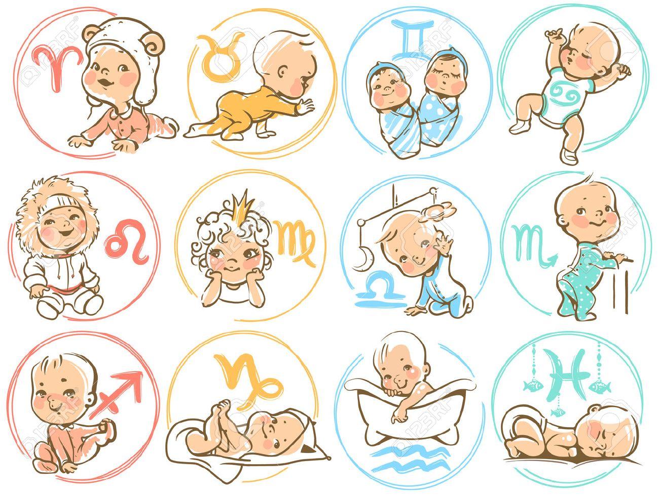 Horoscopul bebelusilor - Cele 12 zodii