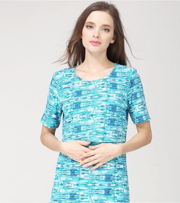 blue-aqua-tricou-gravida-alaptare 1