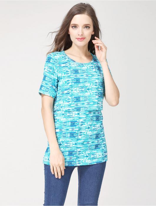 blue-aqua-tricou-gravida-alaptare 2