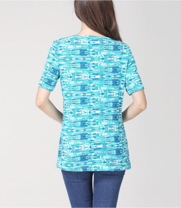 blue-aqua-tricou-gravida-alaptare 5