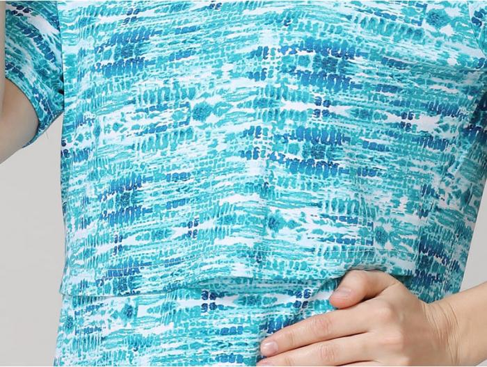 blue-aqua-tricou-gravida-alaptare 4