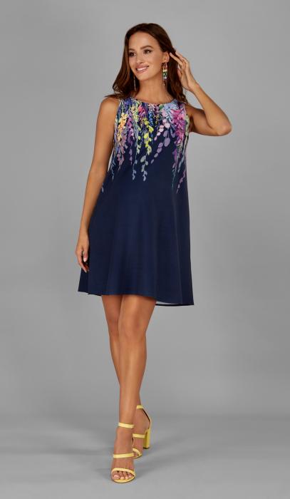 blue-visteria-rochie-eleganta-gravide-marime-s 0
