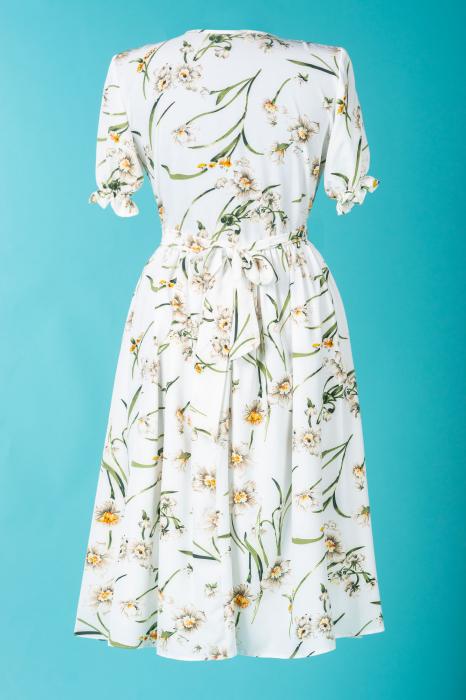 flower-marisol-rochie-gravida-eleganta 3