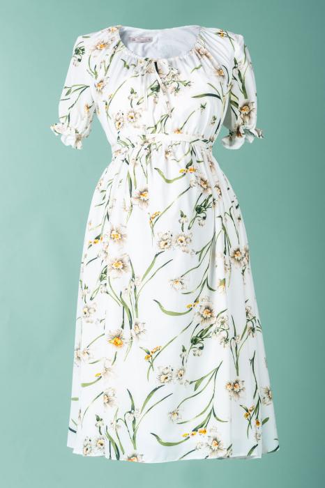 flower-marisol-rochie-gravida-eleganta 5