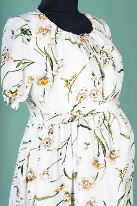 flower-marisol-rochie-gravida-eleganta 4
