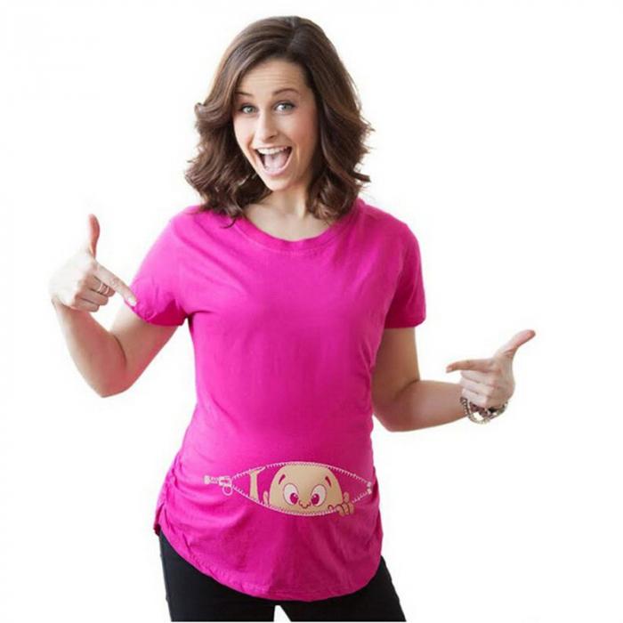 funny-mama-tricou-cu-imprimeu-haios-pentru-gravide-transport-gratuit [0]