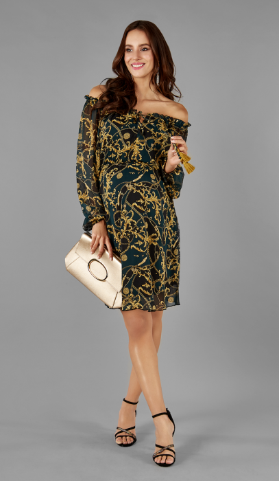 gold-elegance-rochie-gravida-maternitate-transport-gratuit 1