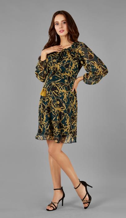 gold-elegance-rochie-gravida-maternitate-transport-gratuit 0