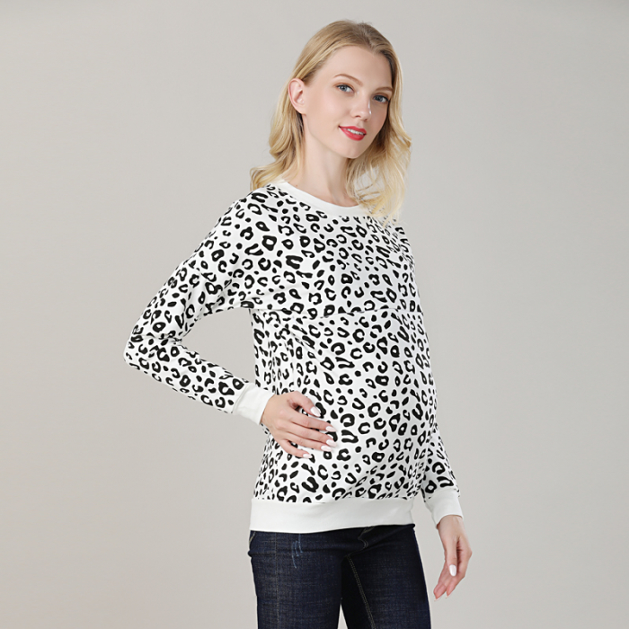 hanorac-animal-print-bluza-gravida-si-alaptare 3