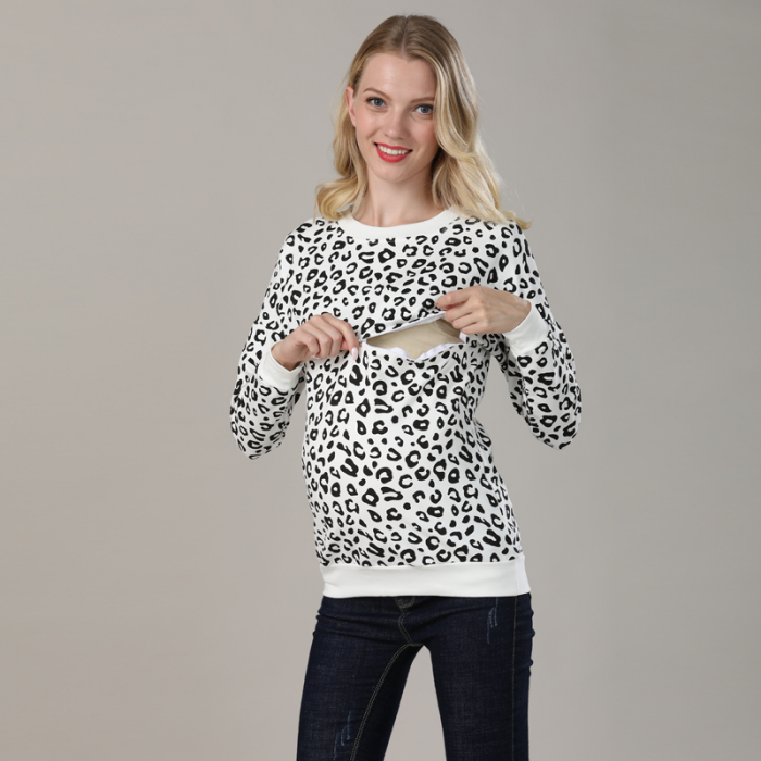 hanorac-animal-print-bluza-gravida-si-alaptare 1