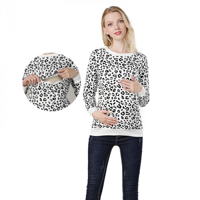 hanorac-animal-print-bluza-gravida-si-alaptare 0