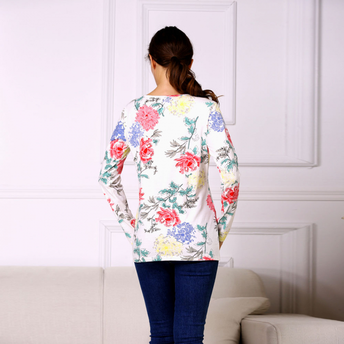 Happy Flower - Bluza alaptare cu imprimeu vesel 2