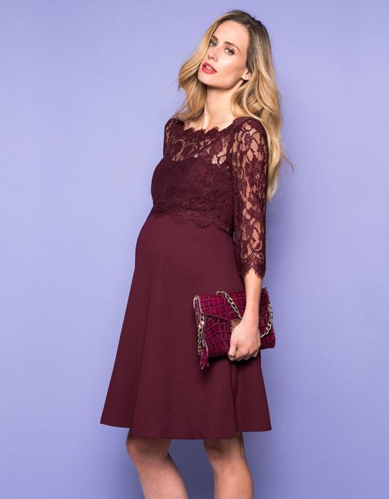 luxe-burgundy-rochie-eleganta-gravida-alaptare 4