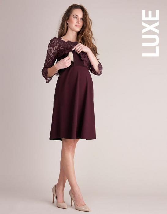 luxe-burgundy-rochie-eleganta-gravida-alaptare 1