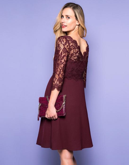 luxe-burgundy-rochie-eleganta-gravida-alaptare 5