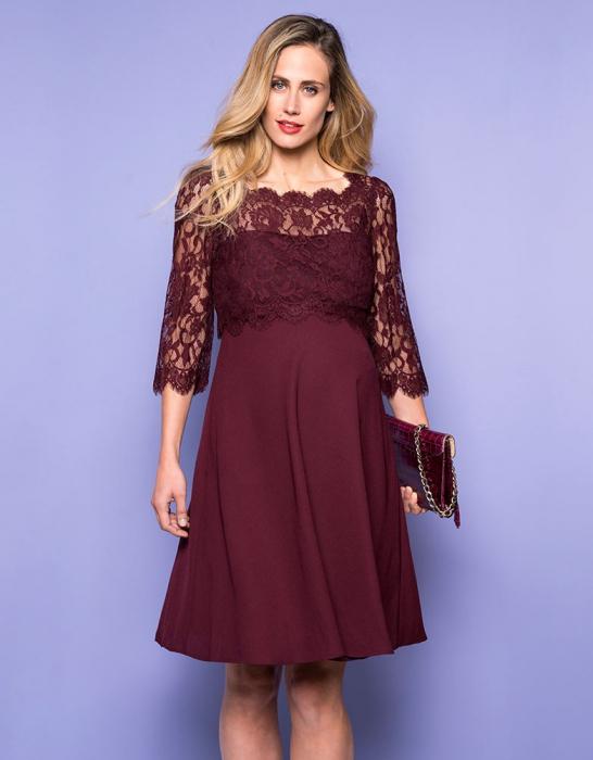 luxe-burgundy-rochie-eleganta-gravida-alaptare 3
