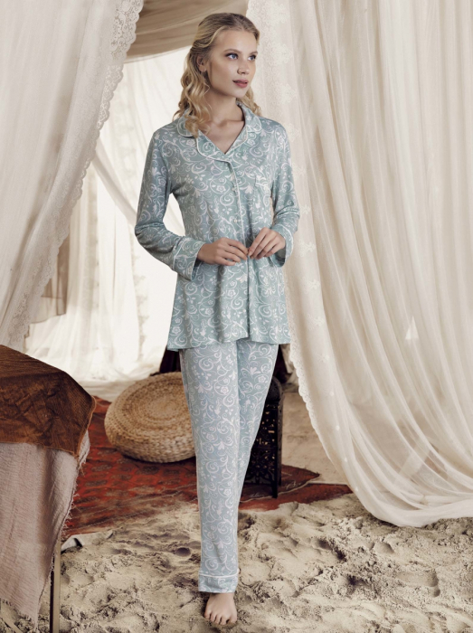 mint-sabina-set-pijama-2-piese 0
