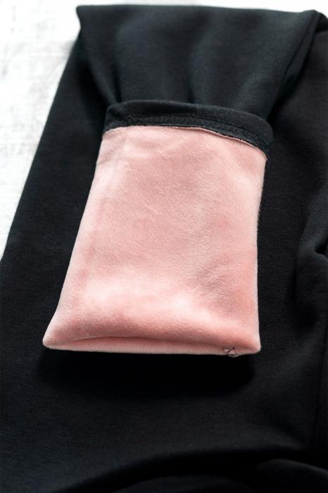 Pantaloni Flausati Gravide  - Catifea Interioara [2]