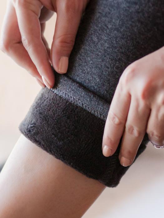 Pantaloni Gravida Flausati Winter Time [1]