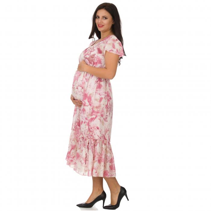 Pink-flora-rochie-eleganta-gravide [5]