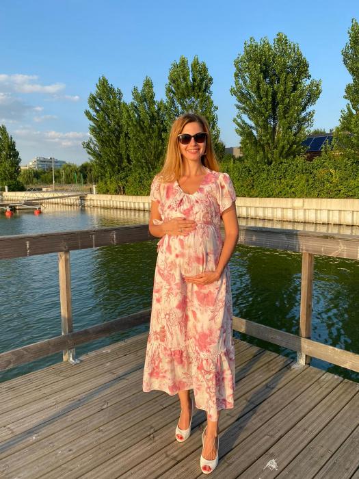 Pink-flora-rochie-eleganta-gravide [0]