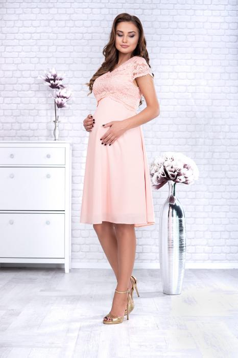 preciosa-rochie-eleganta-de-ocazie-pentru-gravide 0