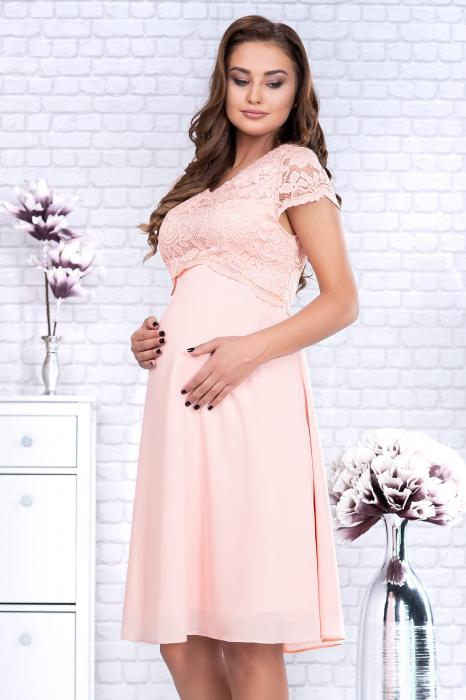 preciosa-rochie-eleganta-de-ocazie-pentru-gravide 3