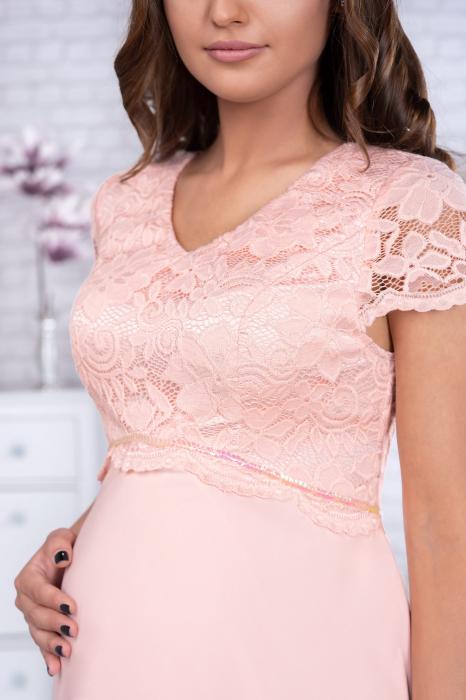preciosa-rochie-eleganta-de-ocazie-pentru-gravide 2