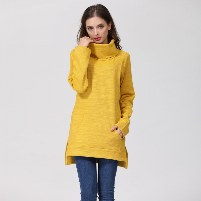 Pulover Gros Yellow Winter, pentru gravide si alaptare 9