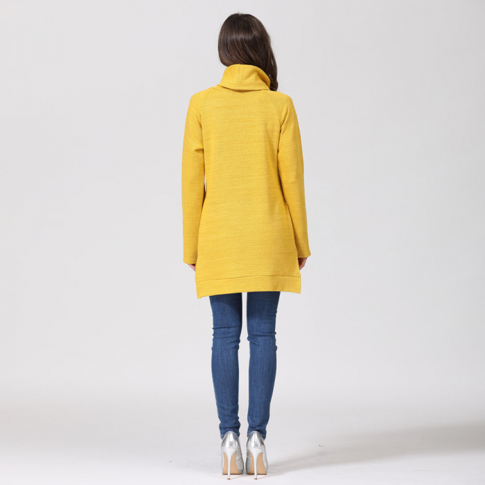 Pulover Gros Yellow Winter, pentru gravide si alaptare 10