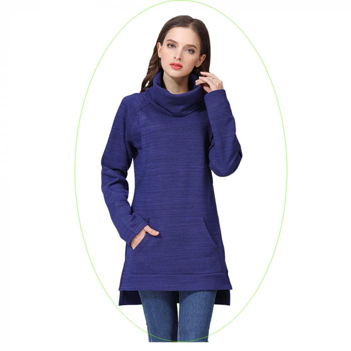 Pulover Gros Blue Winter, pentru gravide si alaptare 1