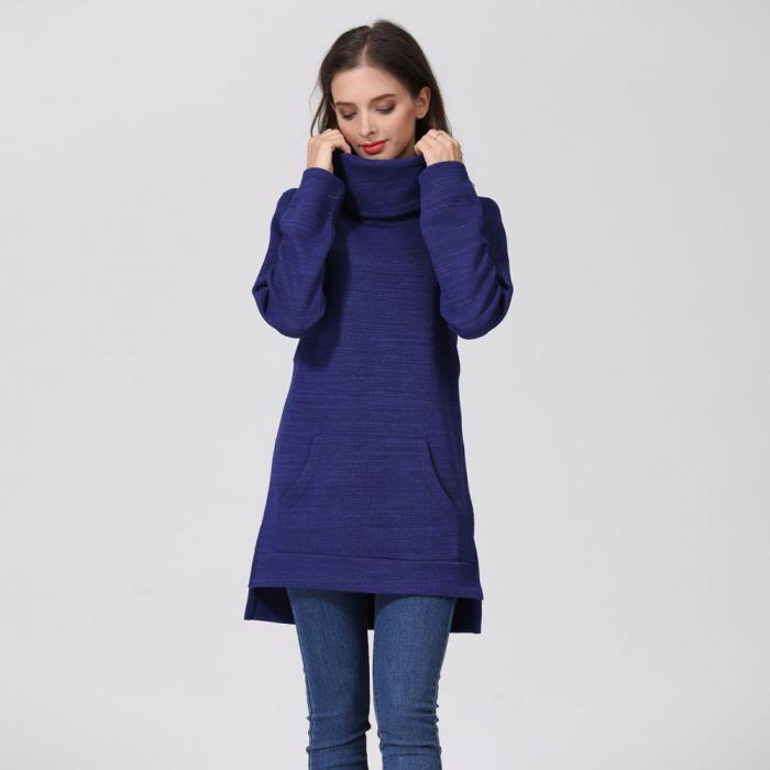Pulover Gros Blue Winter, pentru gravide si alaptare 3