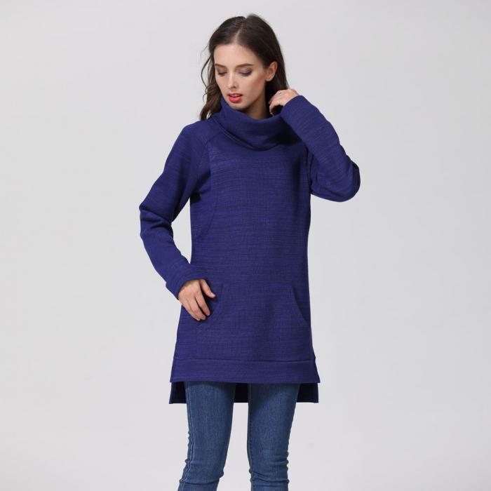 Pulover Gros Blue Winter, pentru gravide si alaptare 6