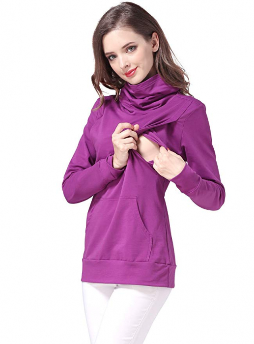 Purple Style - Bluza calduroasa Sarcina si Alaptare 4