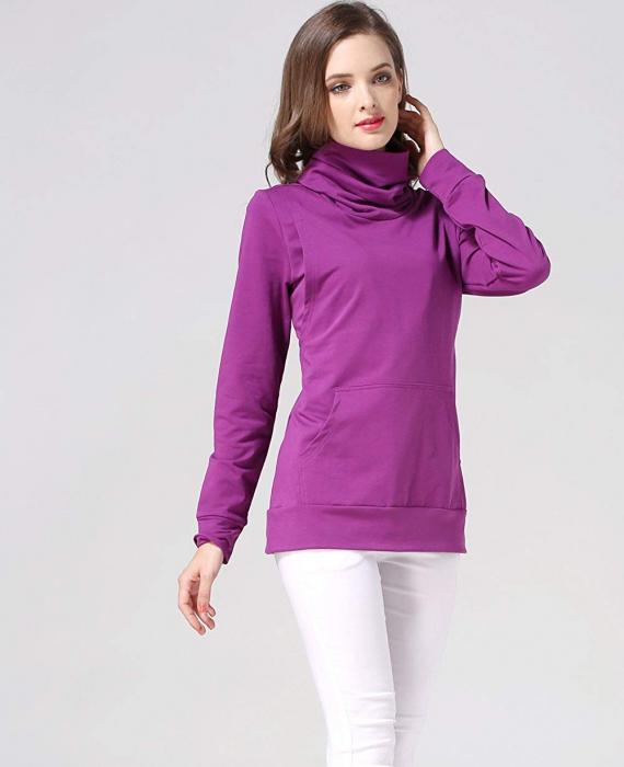 Purple Style - Bluza calduroasa Sarcina si Alaptare 0