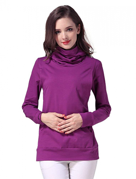 Purple Style - Bluza calduroasa Sarcina si Alaptare 2