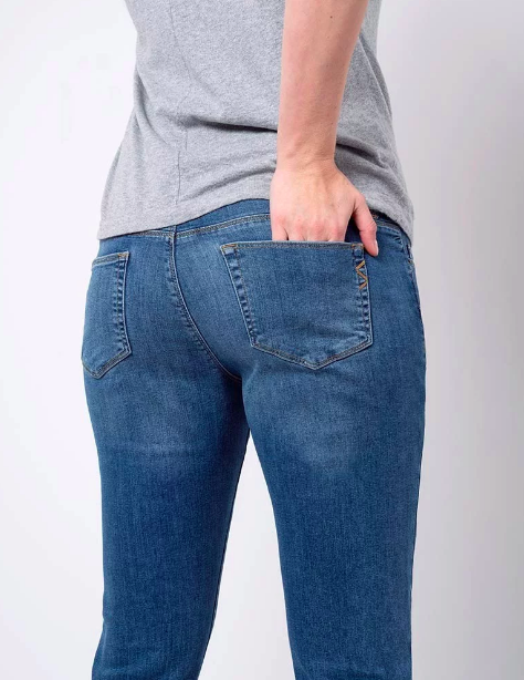 Relax Mama Jeans - Blugi pentru Gravide 4